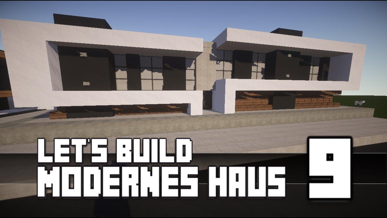 Minecraft Modernes Haus Bauen Teil TutorialAnleitung - Minecraft modernes haus bauen part 1
