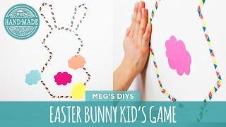 Easter Bunny Kid's Game- Hgtv Handmade