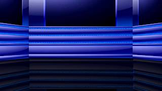 Blue Chase Lights - 2 HD Video Backgrounds