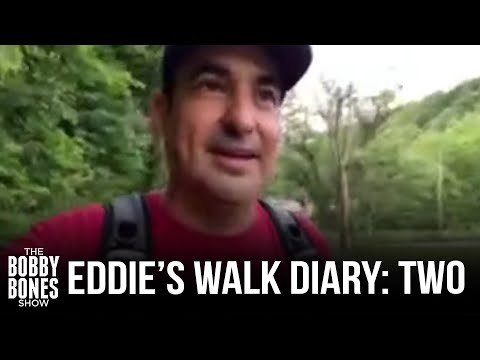 Eddie's Walk From West Virginia To Tennessee Diary: Day 2