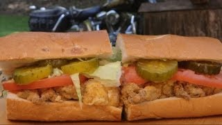 Oyster & Shrimp Po' Boy Recipe By The Bbq Pit Boys