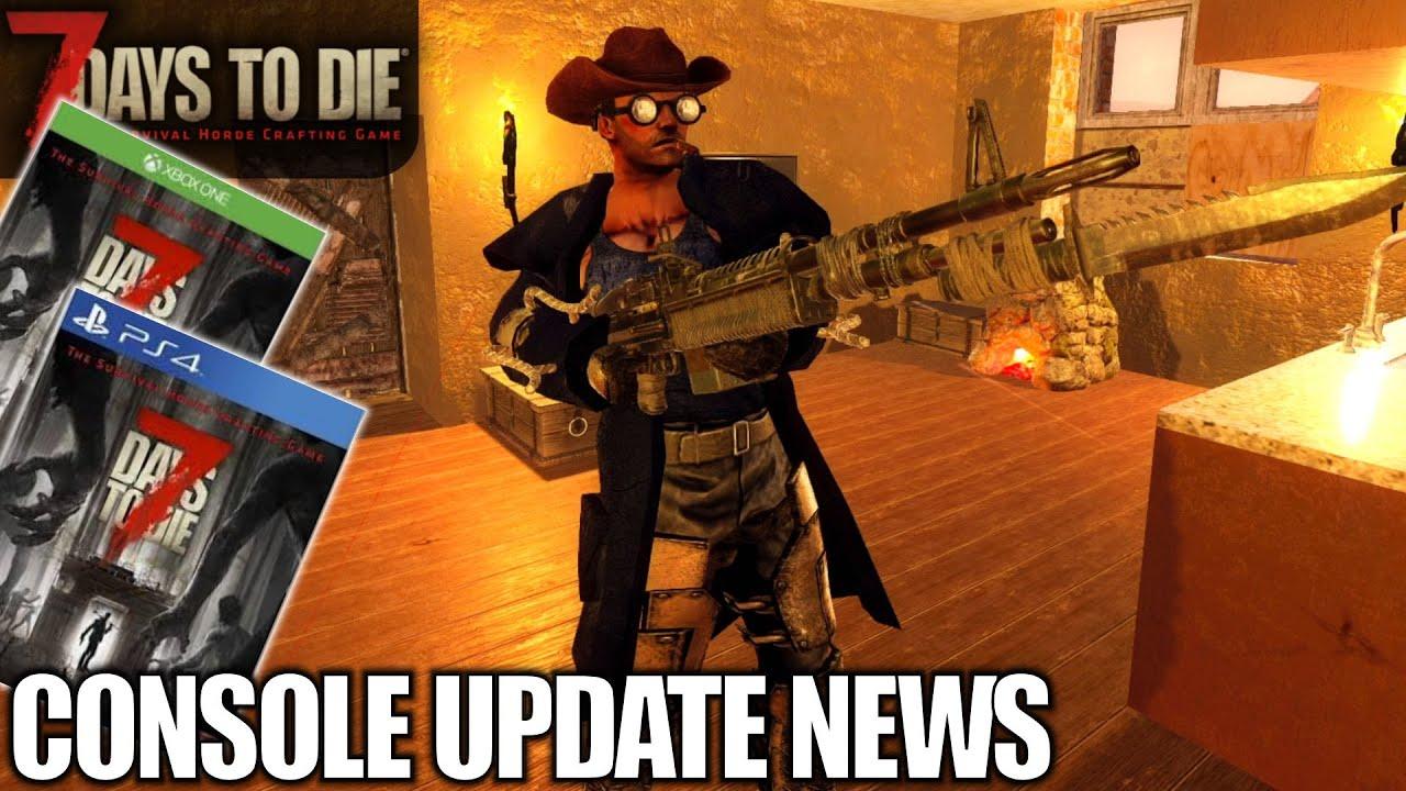 Console Update News Pc Update 7 Days To Die Alpha 18
