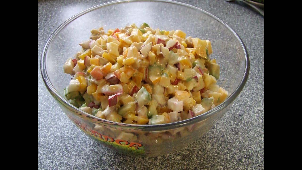 Салаты с авокадо рецепты и фото видео
