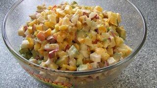 Салат из авокадо ОЧЕНЬ вкусный салат из  АВОКАДО