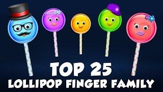 Lollipop Finger Family | Popular Finger Family Rhymes Collection for Children