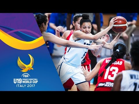 USA v Puerto Rico - Full Game - Round of 16 - FIBA U19 Women's Basketball World Cup 2017