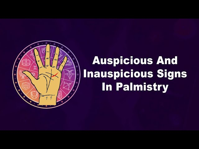 Auspicious and Inauspicious Signs in Palmistry - With Loop