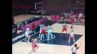 Баскетбол Россия Канада концовка