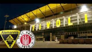 Alemannia, ihr verliert dass ist doch klar! Hier am Tivoli siegt der FC Sankt Pauli.