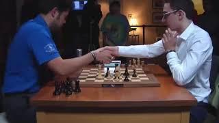 TRAP ROOK!! Hikaru Nakamura vs Fabiano Caruana || Blitz chess 2017