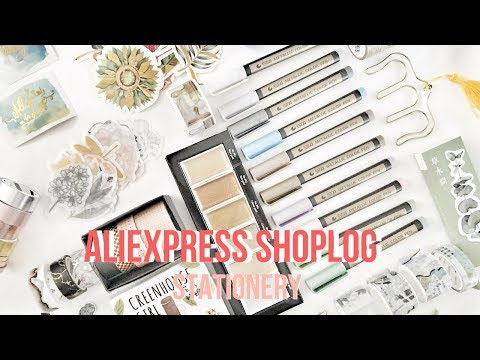 ALIEXPRESS stationery shoplog (bullet journal) | Felia Goovaerts