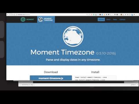 Live Coding Happy Hour for 2017-02-17 - Time Math with Moment.js
