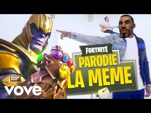 KEBOU - La Même  (Parodie Fortnite)