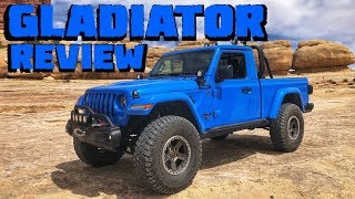 The 2020 JEEP GLADIATOR JT! Test Drive & Review of the Concept Builds!