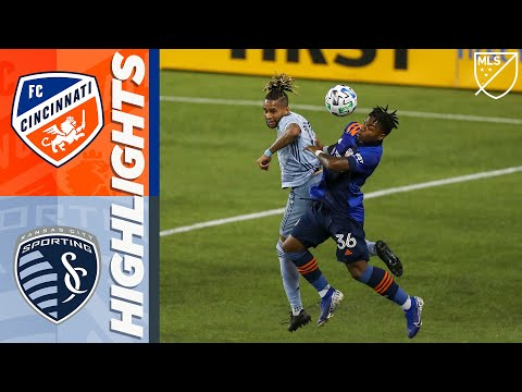 FC Cincinnati vs. Sporting Kansas City | October 28, 2020 | MLS Highlights