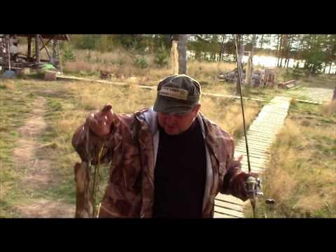 Рыбалка на реке Кемь осень 2013