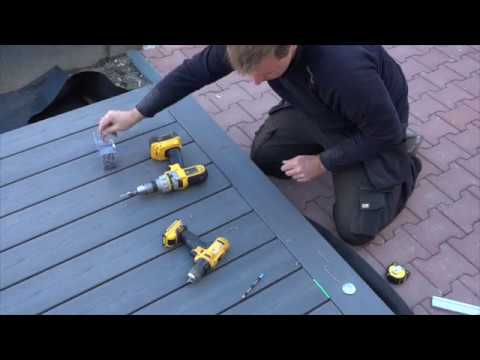 installation spot terrasse led alpha 12v plug play youtube. Black Bedroom Furniture Sets. Home Design Ideas