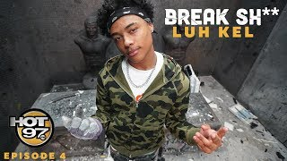 Luh Kel Revisits WRONG, Talks Cinematic Music Group & Smashes the competition | #BREAKSH**