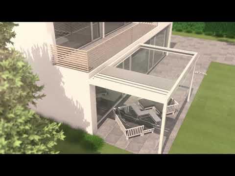 Terrassenüberdachung B600 | Brustor Produktvideo