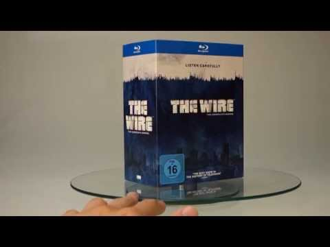 Unboxing: The Wire (Complete Series) Blu-ray HD 1080p German Review