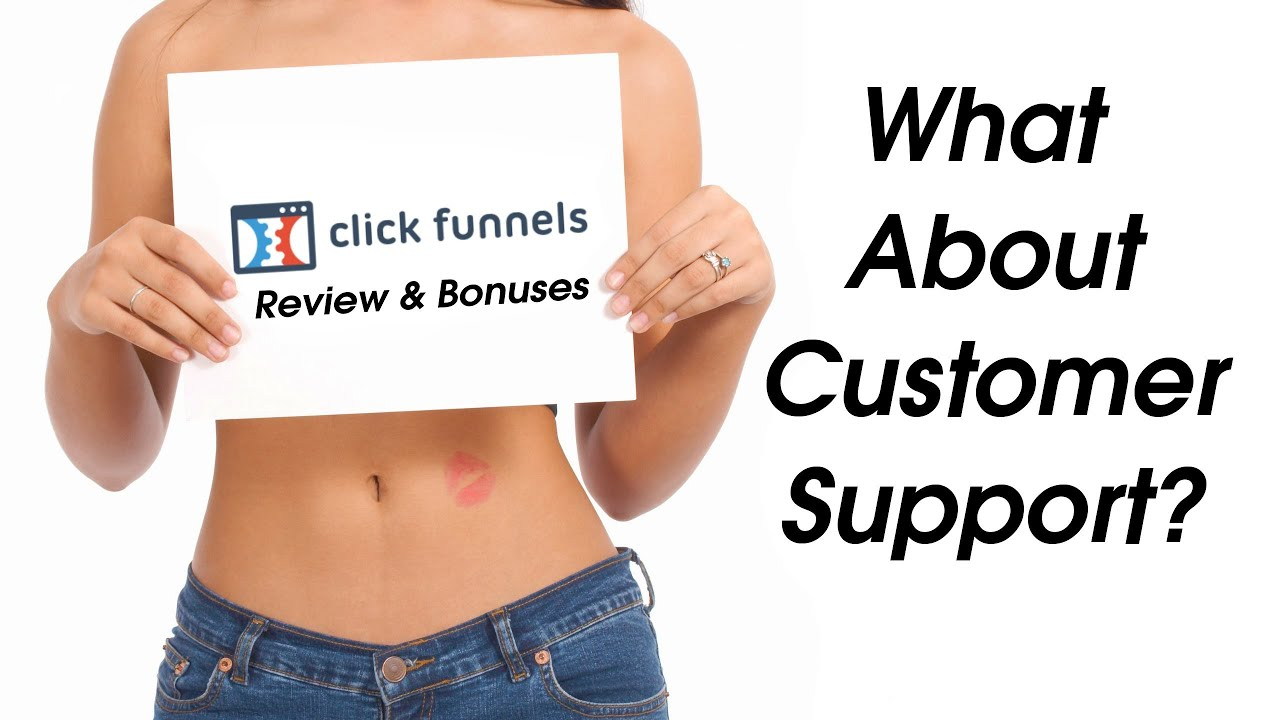 Clickfunnels Review - What about support and training? - Customer support review