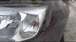 Замена лампы переднего поворотника PY21W на ВАЗ - Lada Granta