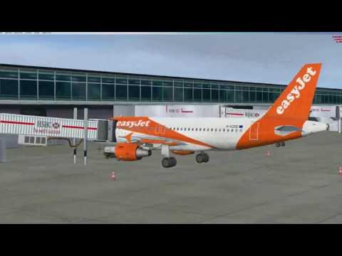 A319 - EZY2231 - EGSS (London Stansted)  to EGPH  (Edinburgh)