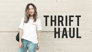 THRIFT HAUL ⇢ TRY ON