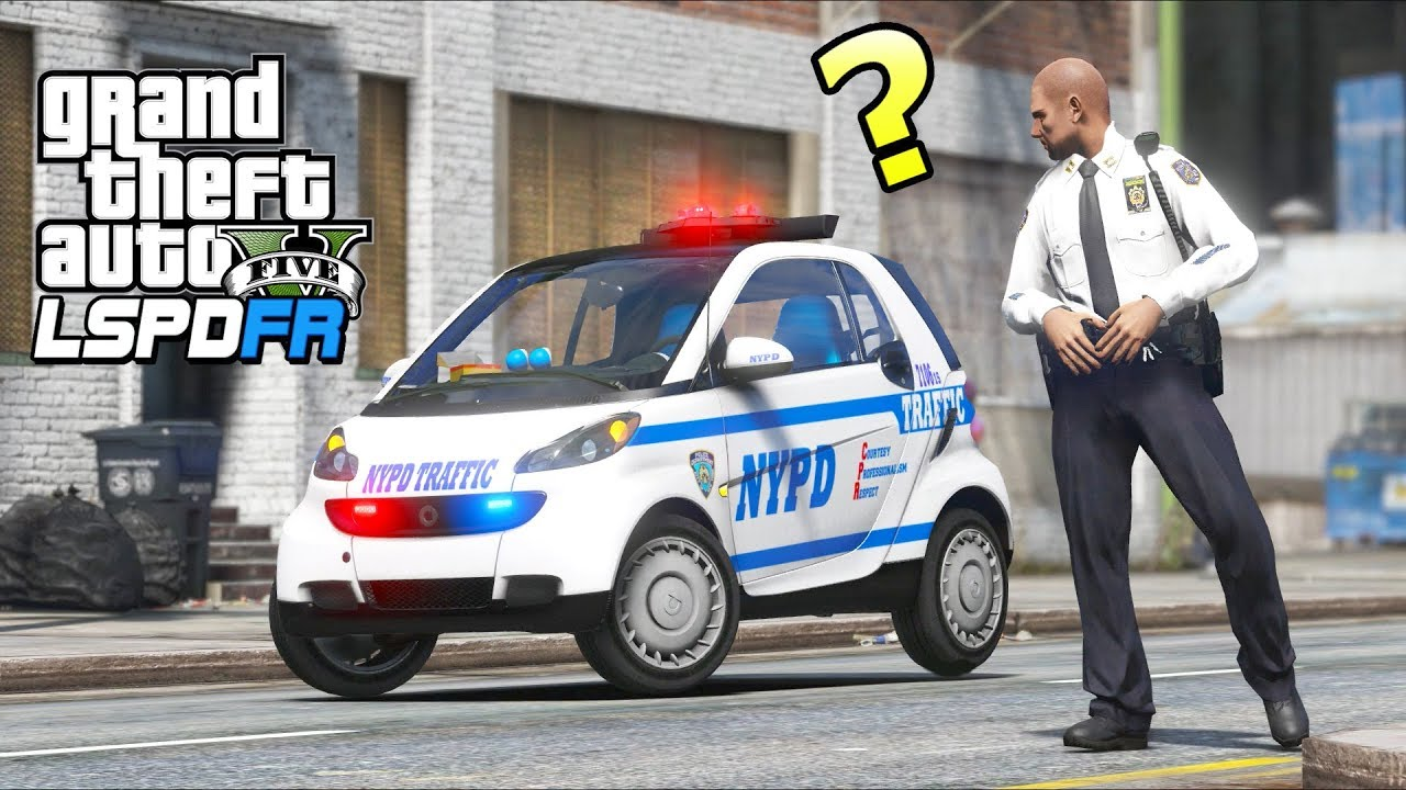 GTA 5 Mods - Police Captain Has to Patrol in THIS?! (LSPDFR Gameplay)