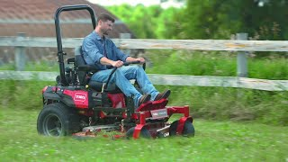 NEW Toro® TITAN® HD Zero Turn Mower with MyRide® Suspension Platform