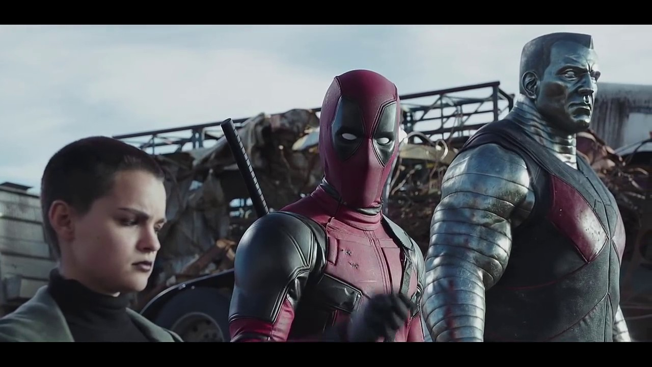 Download Deadpool 2016 ''Deadpool & Colossus & N T W vs  Ajax Final Battle'' Movie Clip 1080p