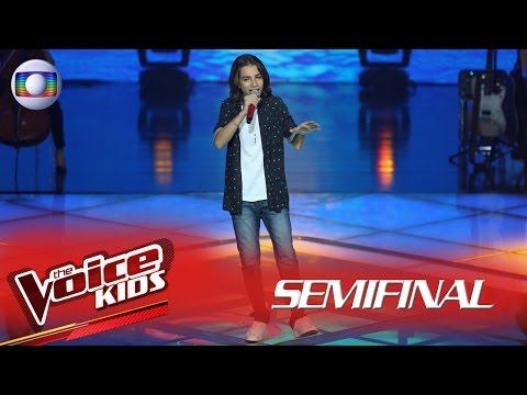 Luis Arthur Seidel interpreta 'Me espera' no The Voice Kids Brasil - Semifinal