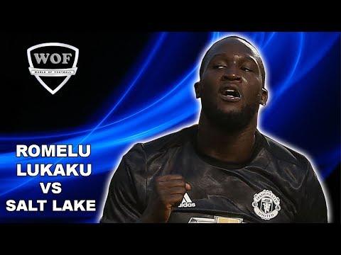 ROMELU LUKAKU vs Real Salt Lake | First Goal For Manchester United 2017 (HD)