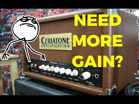 HOW TO DIAL IN THIS AMP: Ceriatone OTS Mini Part 2 Saturated Tones