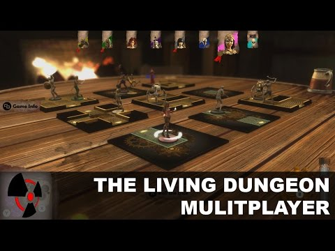 The Living Dungeon Multiplayer - Radiation Burn Live Stream