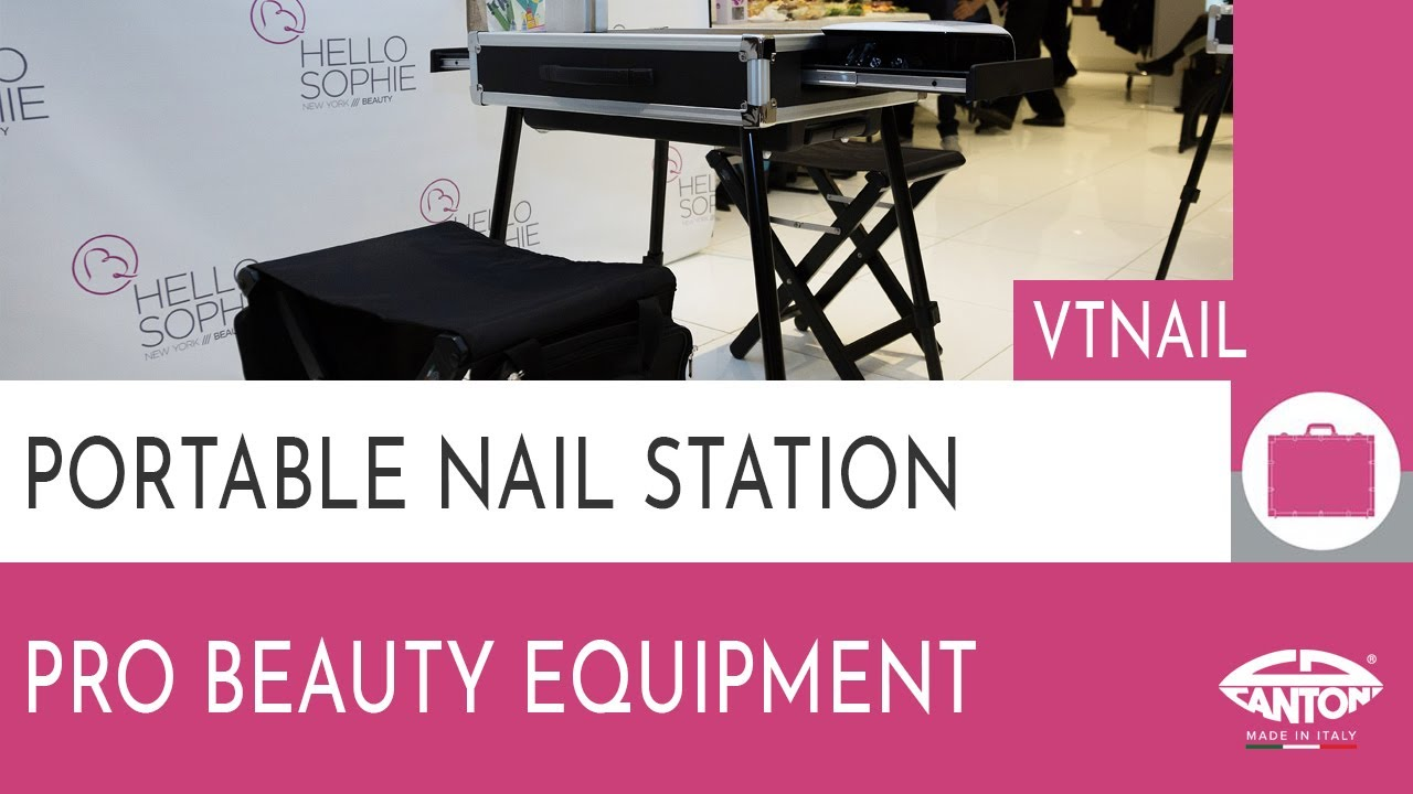Cantoni Video Guide- Portable Nail station art. VTNAIL - YouTube
