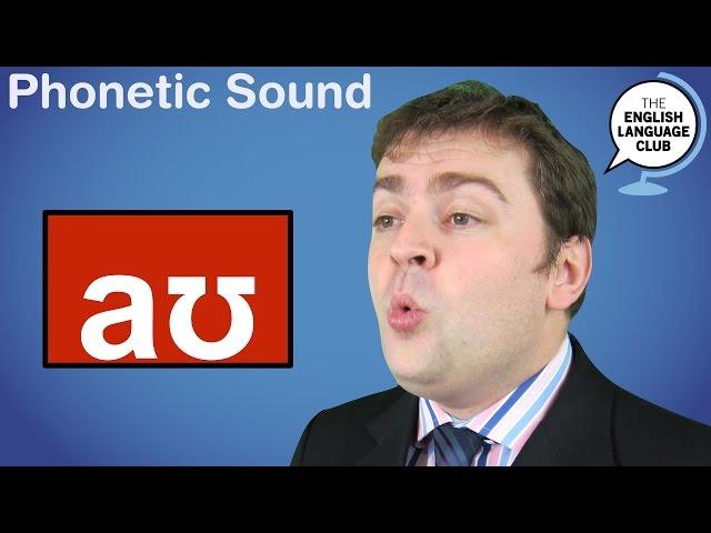The /aʊ/ Sound