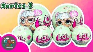 Banh L.O.L Surprise!!! series 2 và banh sủi chứa Charms ToyStation 146