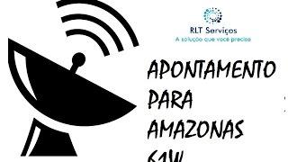 Apontamento para o Satélite Amazonas 61w ( Vivo Tv)
