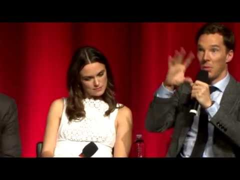 Keira Knightley, Benedict Cumberbatch & Morten Tyldum discuss Perfectiionism