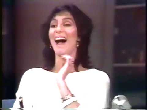 """Cher's Infamous Appearance On David Letterman, 1986: """"(Because You're An) Asshole"""""""