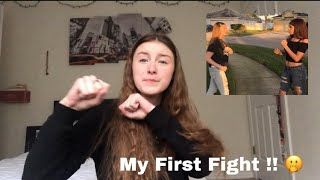 MY FIRST FIGHT STORYTIME !! 🤭