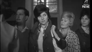 Регина Збарская. Ответный визит в Париж советских манекенщиц, 1961 г.