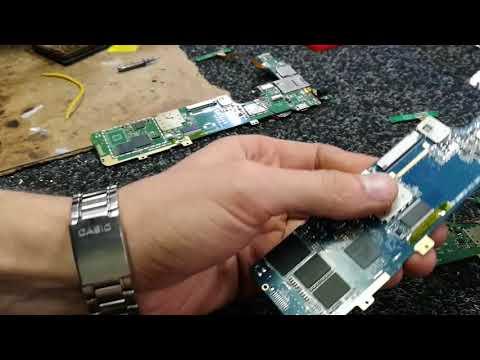 Ремонт планшета 7280c Dou замена Flash EMMC