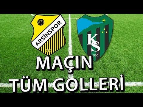 Arsinspor 1- 2 Kocaelispor Maçının Golleri | Video Denizi