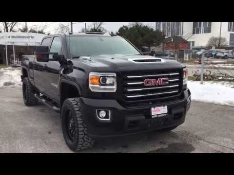 2018 Gmc Sierra 2500hd All Terrain Leveling Kit Nitto Tires Fuel Wheels Oshawa On Stock 180219