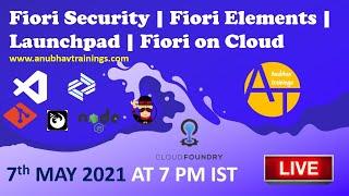 Fiori Security | Fiori on Cloud | Fiori Extension | Fiori Launchpad | Fiori Implementation Trainig screenshot 4