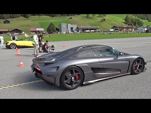 Koenigsegg Regera vs Pagani Huayra Roadster