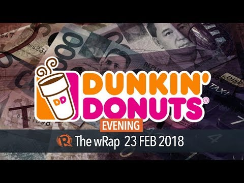 P1-B tax evasion complaint filed vs PH franchisee of Dunkin Donuts