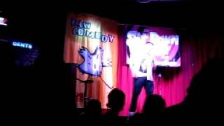 Nick Buick.at Raw Comedy 2010 QLD State Semi Final